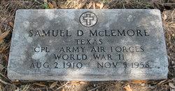 Samuel D Mclemore