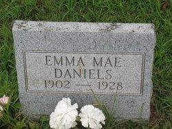 Emma Mae <I>Randolph</I> Daniels
