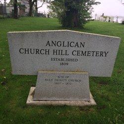 Anglican Church Hill Cemetery