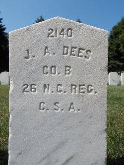Pvt John A Dees