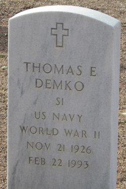 Thomas E Demko