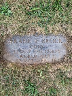 "Edwin Fay ""Frank"" Brock"