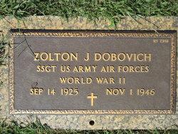 Sgt Zolton J Dobovich