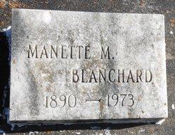 Manette <I>Montet</I> Blanchard