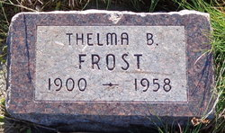 Thelma Pointer <I>Bailey</I> Frost