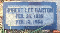 "Robert Lee ""Bob"" Barton"