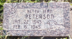 Betty Jean Peterson