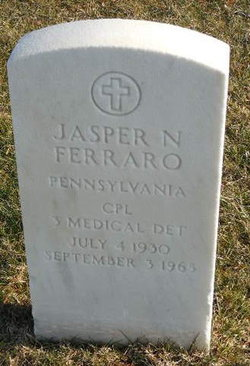 Jasper N Ferraro