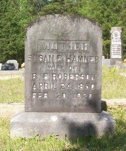 Susan Edith <I>Hamner</I> Roberson