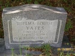Thelma Louise Yates