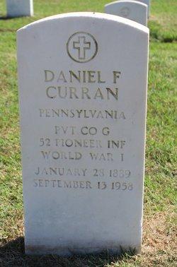 Daniel F Curran