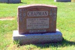 Agnes Jean <I>Saunders</I> Chapman