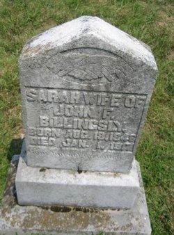 Sarah <I>Hatcher</I> Billingsly