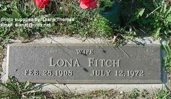 Lona <I>Bowen</I> Fitch