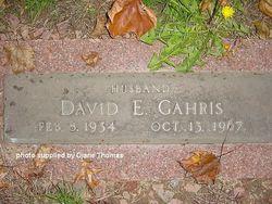 David E. Gahris