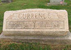 "Elizabeth Lee ""Lizzie"" <I>Haymond</I> Currence"