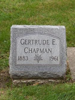 Gertrude Edith <I>Salsbury</I> Chapman