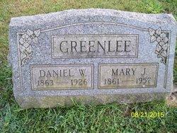 Mary J. <I>Adams</I> Greenlee