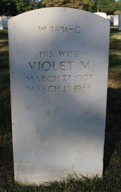 Violet M Aldrich
