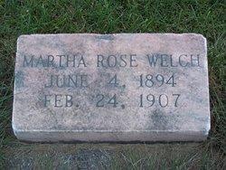Martha Rose Welch