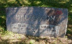 Tillie <I>Brandvold</I> Halderson