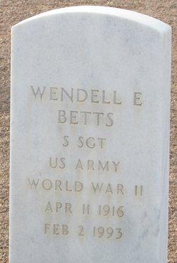 Wendell E Betts