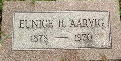 Eunice Hershey <I>Schlosser</I> Aarvig