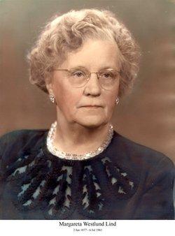 Margareta Louisa <I>Westlund</I> Lind
