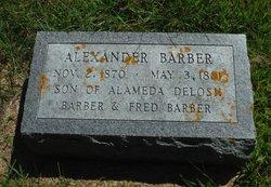 Alexander Barber