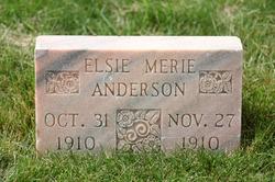 Elsie Merie Anderson