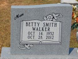 Betty <I>Smith</I> Walker