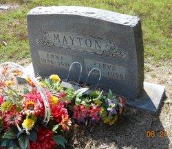 Emma V <I>Fambrough</I> Mayton