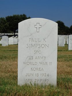 Paul K Simpson