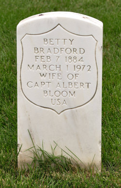 Betty <I>Bradford</I> Bloom