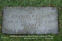 Helene Elizabeth <I>Kindred</I> Curtis