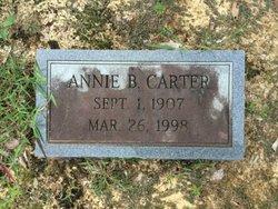 Annie <I>Beasley</I> Carter
