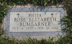 Elizabeth Alice (Sister Rose Elizabeth) Bumgarner