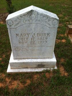 """Mary Jane """"Molly"""" <I>Watkins</I> Burk"""