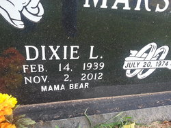 Dixie Lee <I>Sawyer</I> Marshall
