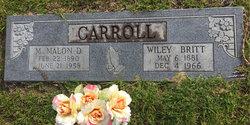 Wiley Britt Carroll