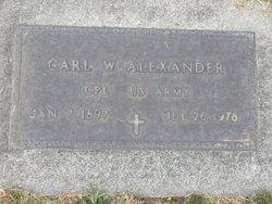 Carl Winfield Alexander