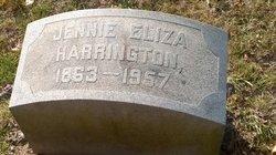 Jennie Eliza <I>Canfield</I> Harrington