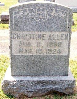 Anna Christine Allen