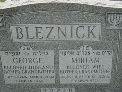George Bleznick