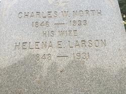 Helena E <I>Larson</I> North