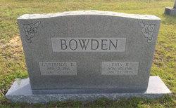 Gertrude B. Bowden