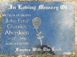 John Errol Chandos Aberdeen