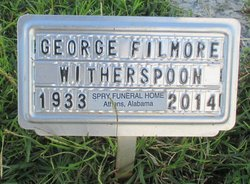 George Filmore Witherspoon 1933 2014 Find A Grave Memorial