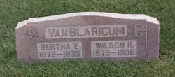 Bertha Ellen <I>Ralston</I> VanBlaricum
