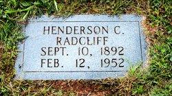 Henderson C Radcliff